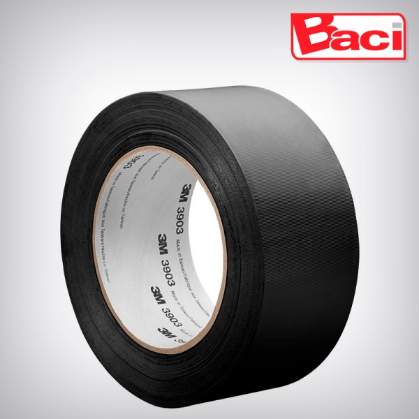 CINTA DUCT 3M 3903 50MM X 9M NEGRA