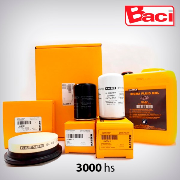 KIT SERVICE SM PAQ. 3000 HS.