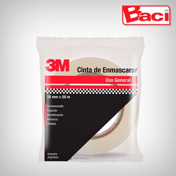 Cinta de enmascarar 3M 36mm x 50m flow pack